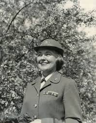 「On May 15, 1942, women are granted official US military status for the first time when a bill establishing a women's corps in the US Army becomes law.」の画像検索結果