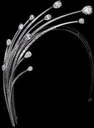 Princess Charlene of Monaco's Diamond Foam Tiara / Aigrette ...