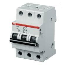 ABB <b>S203</b> C25 <b>Автоматический выключатель</b> 3P <b>25A</b> (C) 6kA