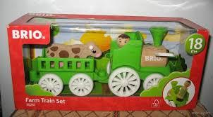 <b>BRIO</b> 30267 Фермерский поезд, деревянный <b>игровой набор</b> ...