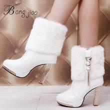 Popular <b>Boots</b> with Rabbit Fur Platform <b>Women</b>-Buy Cheap <b>Boots</b> ...