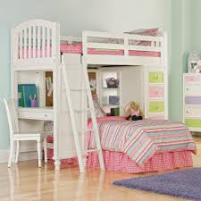 interior bunk bed with stairs desk on wooden floor matched sleigh drawers which furnished lovely sofa bunk beds stairs desk