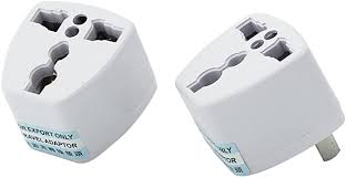 <b>2 Pcs</b> Universal <b>EU</b>/<b>UK</b>/<b>AU to US USA</b> AC Travel Power Adapter ...