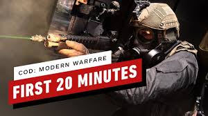 The First 20 Minutes of Call of Duty: Modern Warfare (4K 60FPS ...