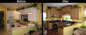 Mobile Home Kitchen Painted Cabinets Before And After Ideas For Your Kitchen