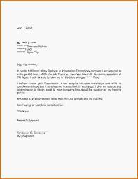application letter of hotel