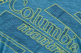 Футболка Мужская Columbia Trinity Trail 2, Цвет: Синий. 1839741 ...