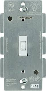 ge 12728 wireless lighting control add on toggle style switch white for ge ge wave wireless lighting control