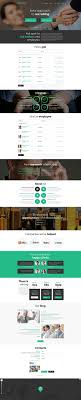 newest wordpress templates parallax scrolling effect  job portal responsive wordpress theme