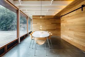 design detail sliding door hides home office architects sliding door office