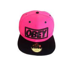 Женская кепка розового цвета <b>Obey</b> на застежке snapback с ...