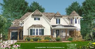 Long Island Cottage House Plan   House Plans by Garrell Associates    long island cottage house plan   front elevation