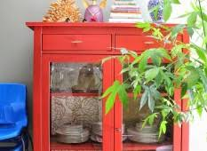 furniture small red ikea hemnes linen cabinet with glass doors set beside bright blue chair country big brown ikea hemnes linen