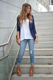 casual chic outfit idea with jeans chic office ideas 15 chic