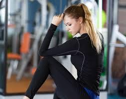 Hot Offer Yuerlian <b>Hot Women Fitness Tight</b> female T-shirt Dry Fit ...