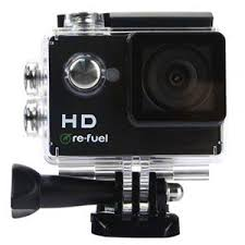 Re-Fuel <b>Action Camera</b> with <b>Waterproof Case</b> RF-ACTION1 - Adorama