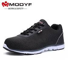 factory MODYF Men Steel Toe Work Safety Shoes ... - Qoo10