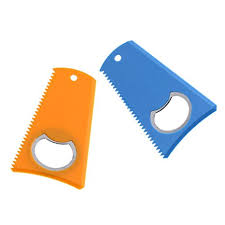 CUTICATE 2pcs <b>Surfboard Wax</b> Comb With Bottle Opener For <b>SUP</b> ...