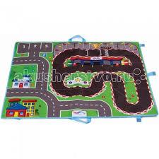 Игровой коврик <b>Viking Toys Коврик-сумка City</b> 70х90 см ...