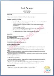 sample resume for preschool teacher objective preschool teacher resume sample objective objectives profesional resume for job education