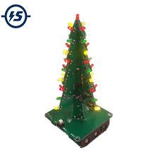 Three Dimensional 3D Tree <b>LED DIY</b> Kit Red/Green/Yellow <b>LED</b> ...
