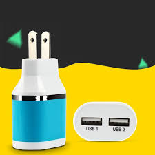 China <b>2.1A Dual</b> USB Travel Wall Charger Adaptor for Mobile ...