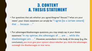 revision guide dos and don ts faqs points to remember ppt 13 3 content a thesis statement for questions that ask whether you