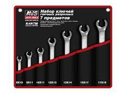 <b>Набор ключей AVS</b> K4N7M A07703S - ElfaBrest