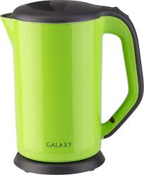 Купить <b>электрический чайник Galaxy GL</b> 0318, зеленый по низкой ...