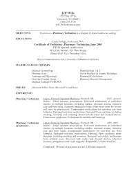 pharmacy technician resume cover letter cipanewsletter it service technician cover letter