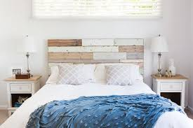 wood panel headboard becomes a key element in the shabby chic bedroom design the chic shabby french style distressed