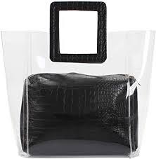 Amazon.com: Poxas <b>Womens Transparent</b> Shoulder Bags <b>Clear</b> ...