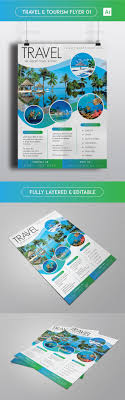 travel tourism flyer flyer template travel and tourism travel tourism flyer template ai illustrator