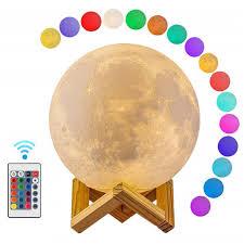 Online Shop Moon Light <b>3D</b> Print Moon Globe Lamp, <b>3D</b> Glowing ...