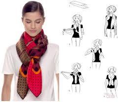 10 способов красиво <b>завязать шарф</b> на куртку, пальто, верхнюю ...