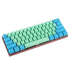 YMDK Customized 61 ANSI <b>Keyset</b> OEM Profile Thick <b>PBT Keycap</b> ...