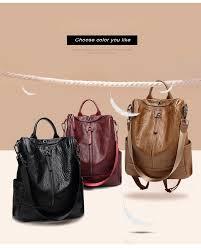 <b>POMELOS Backpack Women</b> High Quality Soft PU Leather ...