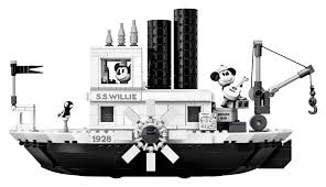LEGO Debuts Steamboat Willie Set to Celebrate Mickey's 90th ...