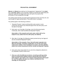 prenuptial agreement samples forms template lab prenuptial agreement template 30
