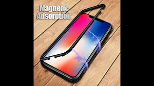 Luxury Magneto <b>Magnetic</b> Adsorption <b>case</b> for <b>iphone</b> X 7 8 plus 6 ...