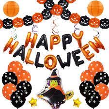 <b>Halloween Balloons</b> Combination Set <b>Festival Celebration Party</b> ...