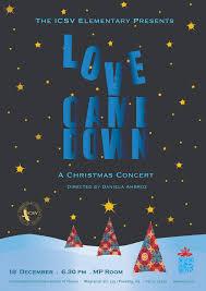christmas concert posters dax graphics  icsv elementary s 2013 christmas concert poster final draft