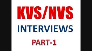kvs nvs interview preparation series part  kvs nvs interview preparation series part 1
