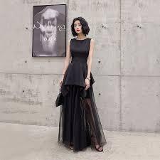 Modern / Fashion Black <b>Summer</b> Evening Dresses <b>2019</b> A-Line ...