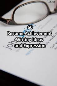 best images about career social media marketing 60 big achievement ideas and expressions to boost your resume
