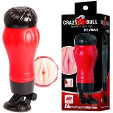 Мужской <b>мастурбатор</b>-<b>анус</b> с <b>вибрацией</b> в тубе «Crazy Bull Flora ...
