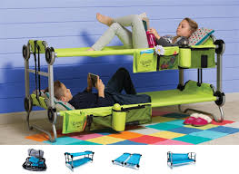 kid o bunk portable bunk bed cot couch side by side cots bunk bed deluxe 10th
