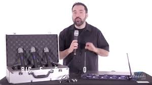 zZounds.com: VocoPro UHF-5800 <b>4</b>-<b>Channel</b> Handheld <b>Wireless</b> ...