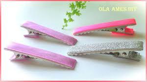 Как обклеить лентой заколку-крокодил/ <b>Alligator</b> Hairclip/ Ola ...