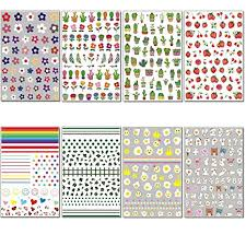 TailaiMei 2019 New Nail Decals Stickers, Popular ... - Amazon.com
